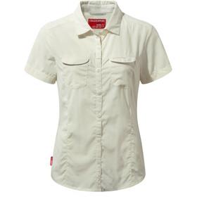 Craghoppers NosiLife Adventure II Kortærmet skjorte Damer, beige